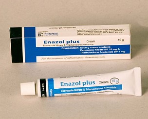 Econazole Nitrate BP+ Triamcinolone Acetonide BP <em>(Enazole Plus Cream 10g)</em>