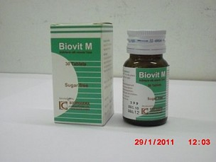 Multivitamin with Mineral Tablets <em>(Biovit-M)</em>